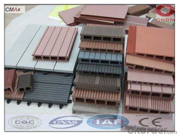 CE Certificated Hollow Composite Decking from CNBM CMAX