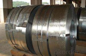 Galvanized Steel Strip with High Quality-SGC340 600*2.5mm