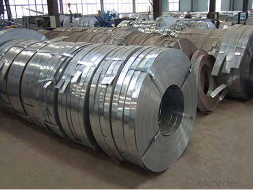 Galvanized Steel Strip with High Quality-DX51D+Z 710*3.0mm