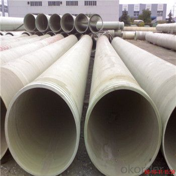 Fiberglass Reinforced Plastic Pipe FRP/GRP Pipe Brine Projects