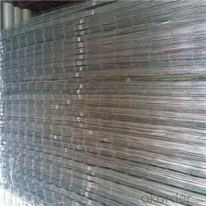 Reinforced Welded Mesh Panel 2.4m*6m Galvanized or Black