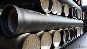 Ductile Iron Pipe Standard:ISO2531 Length: 6M/NEGOTIATED