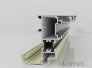 Aluminum Door Profile of Powder Coating