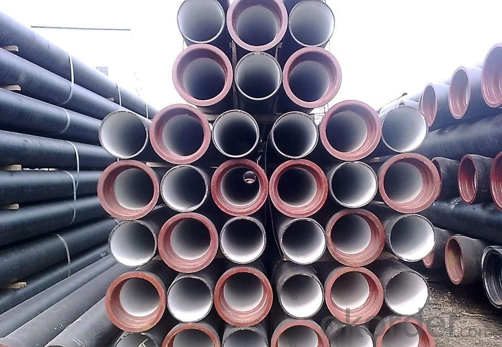 Ductile Iron Pipe Model:T type / K type / Flange type Length: 6M