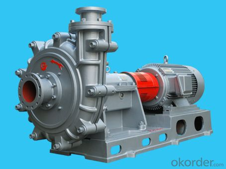HZJ Series Heavy Duty Slurry Pump(ISO2858, ISO5199, API682)