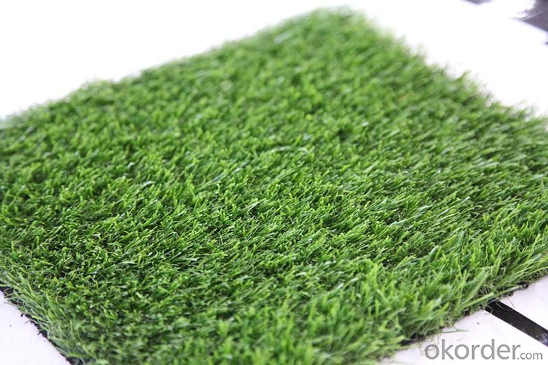 Green Color Landscaping Artificial Grass / Turf For Home Garden