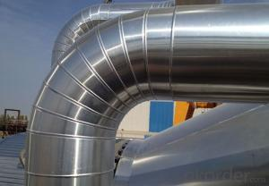 Aluminum Coils 3003 for insulation and cladding of oil & gas pipes