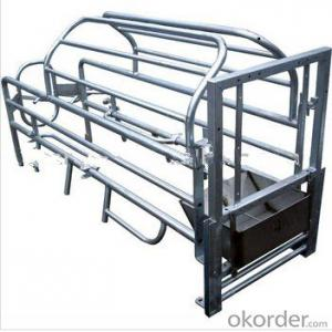 Galvanized Gestation Stall for Cows&Cattle-One Stall(1850*600mm)