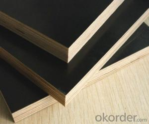 Film Faced Plywood Shuttering Plywood Hardwood Core Construction Plywood