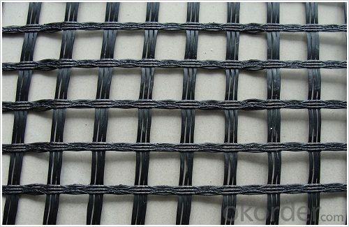 Railway Steel Plastic Geogrid