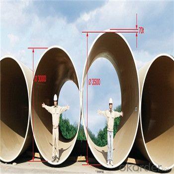 Fiberglass Reinforced Plastic Pipe FRP/GRP Pipe Seawater Desalination Project