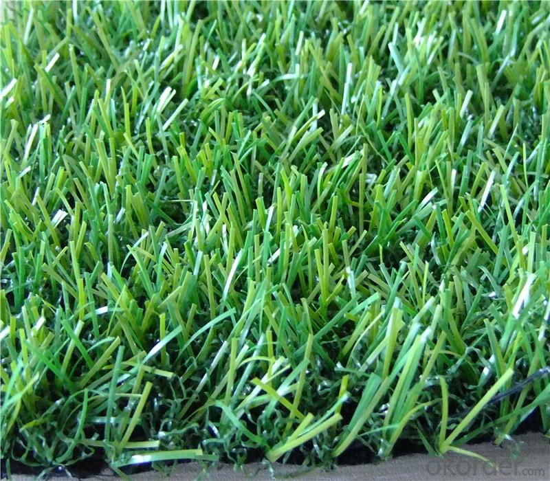Environmental Green Color Landscaping Artificial Grass / Turf For Home
