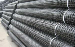 Strength Fiberglass Geogrid High Tensile