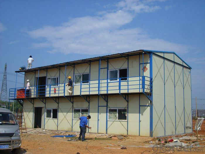 Sandwich Panel House Made in China for Construction Site