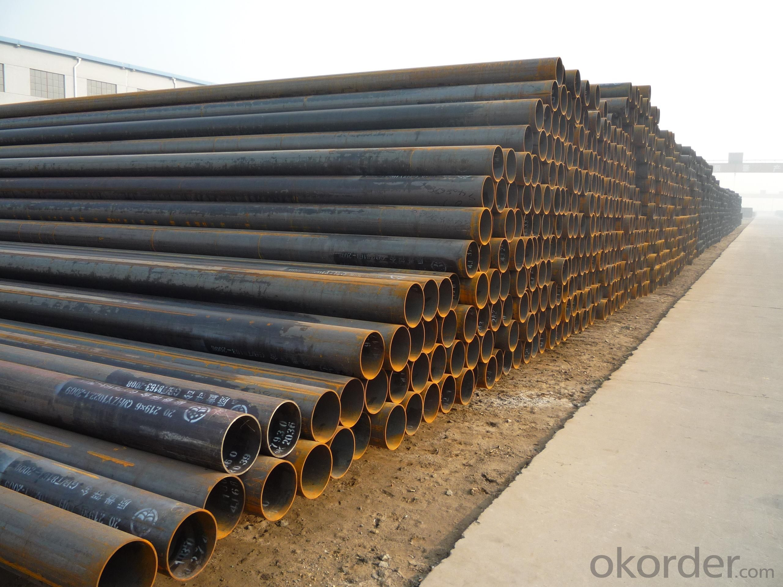 Welded Black ERW Steel Pipe 5L elded Black ERW Steel Pipe 5L
