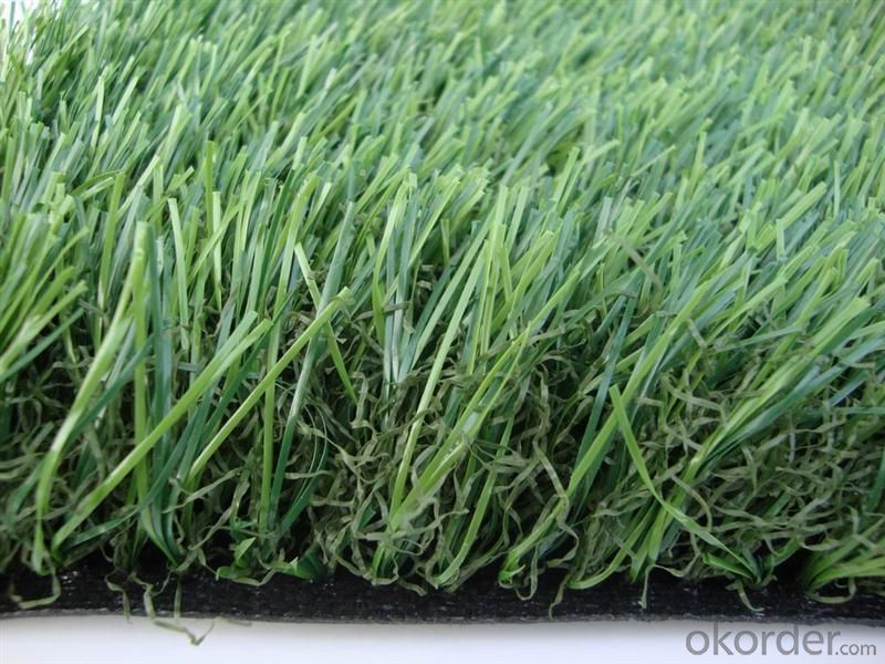 UV resistant Landscaping artificial turf grass 20mm - 50mm , 11000dtex & 12800dtex