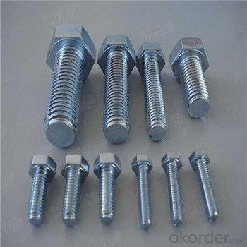 HEX BOLTS DIN933 DIN931 DIN976 ASTM B18.8.1.1