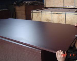 Black Film Faced Plywood for Concrete Formwork MR Glue