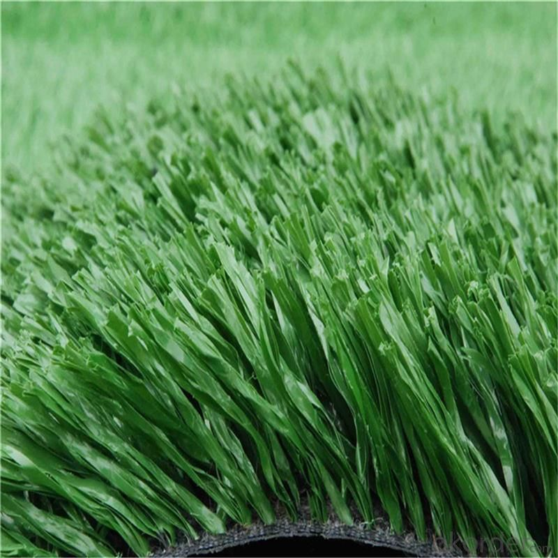 Artificial Grass , Green Futsal Synthetic Lawn For Soccer Filed