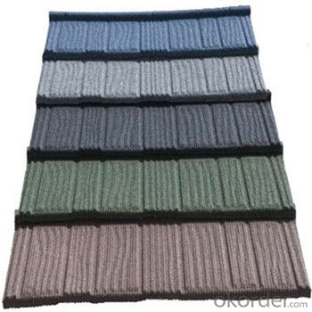 Stone Coated Metal Roofing Tile with High Quality Factory