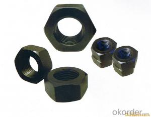 DIN 934, GB6170, GB6175 High Quality 8 Grade Hex Nuts