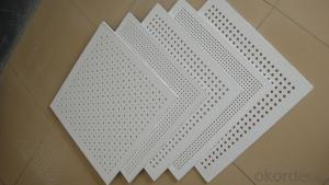 Gypsum  Board  Good quality Low Price Acoustic Perforated