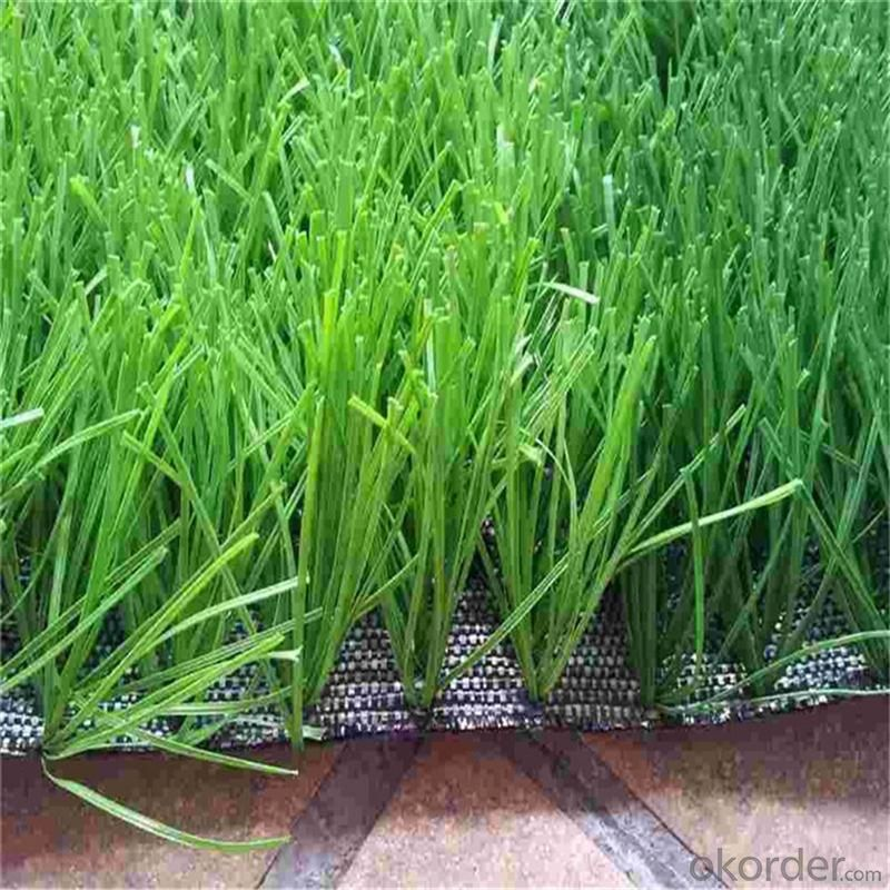 Buy 55mm soccer green or white artificial grass decoration for Artificial grass decoration