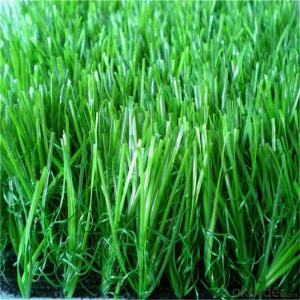 55mm Soccer Green Or White Artificial Grass Decoration Turf Athletic Fields