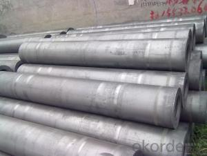 High Density RP Dia.300mm Graphite Electrode with Nipple