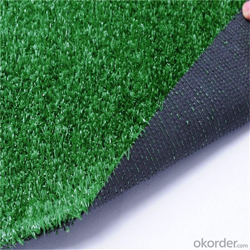 PE Football Artificial Grass , Green Futsal Synthetic Lawn For Soccer Filed