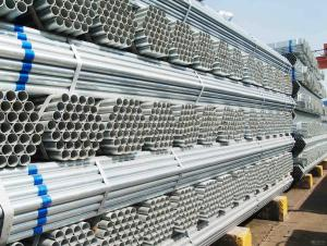 BS1387 Q235 A500 150g Hot Dipped or Galvanized Pipe Pre-galvanized Pipe