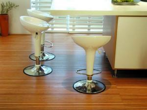 Oiled Strand Woven Bamboo Flooring------Whitewash