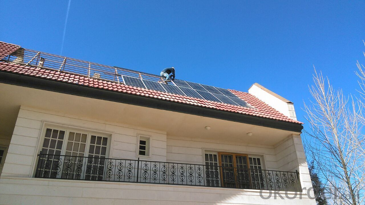 Polycrystalline Solar Panel 55W Hot Selling High Efficiency
