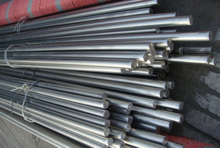 ASTM A484 Standard 304 Stainless Steel Round Bar Polished