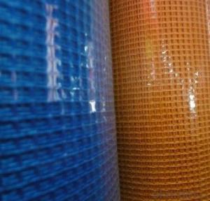 Fiberglass Mesh with External Plaster Reinforcement