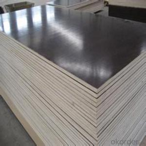 Hardwood Core 1220*2440*22mm MR Glue Brown Film Faced Plywood