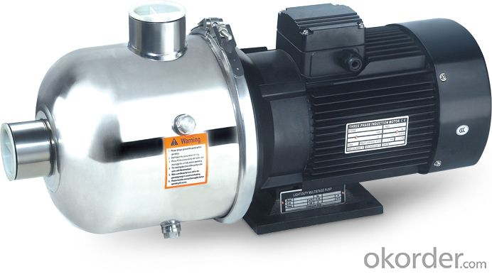 Buy Stainless Steel Multistage Booster Centrifugal Pump