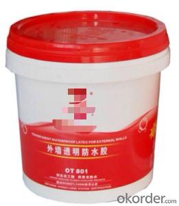 Exterior Wall Transparent Waterproof Glue