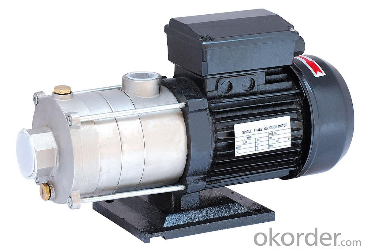 Stainless Steel Multistage Booster Centrifugal Pump