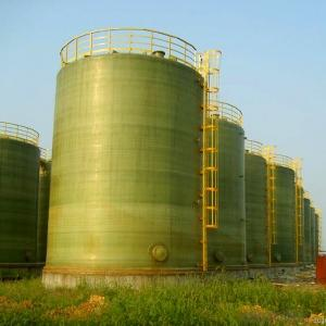 Large FRP Tank Composed of Chemical Barrier