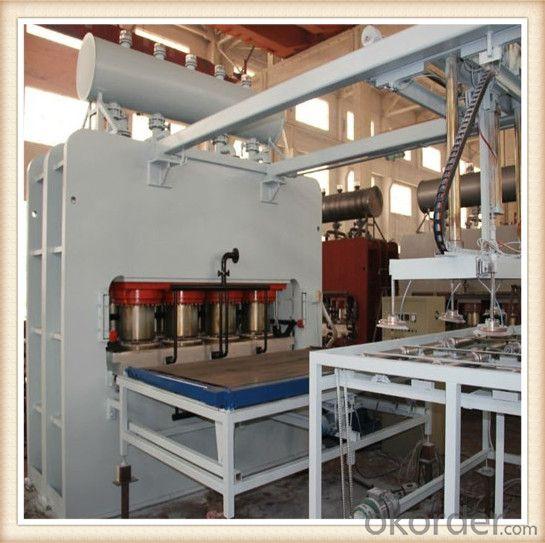 Automatic Short Cycle Melamine Laminating Hot Press Line