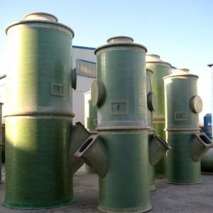 FRP Desulfurization-Integral Fume Pipe and Tower