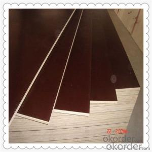 18mm Thickness Brown Color Film Faced Plywood