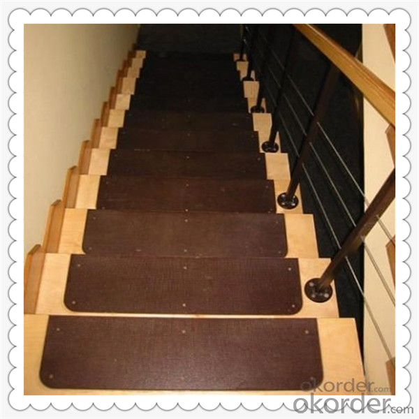 Film Faced Plywood for Stairs and Indoor Usage with Good Quality