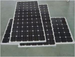 36V Monocrystalline Solar Panel 245W with TUV Certificate