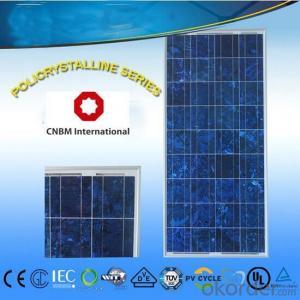 36V Monocrystalline Solar Panel 200W with TUV Certificate