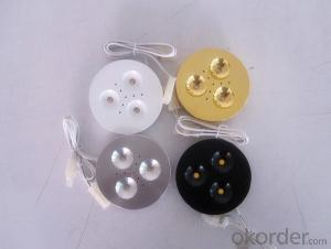 Hot Selling 12 VDC Input High Power Dimmable 3W LED Puck Light