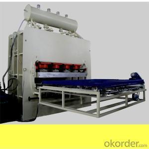 Melamine Hot Press Short Cycle Hydraulic Laminating Machine 1220*2440mm