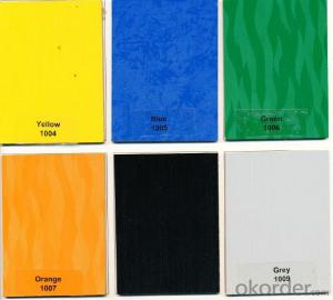 Melamine MDF in Many Different Solid Colors