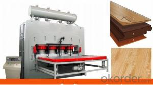 Wood Decorative Furniture Moulding Press Machine